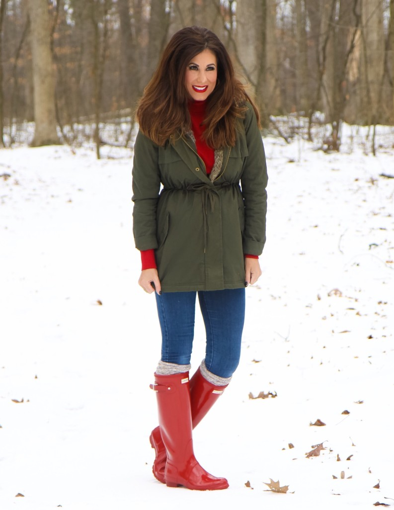 c71c49d8e0a8 Tracy Hensel - Hunter Boots - Michigan Weather • Tracy Hensel