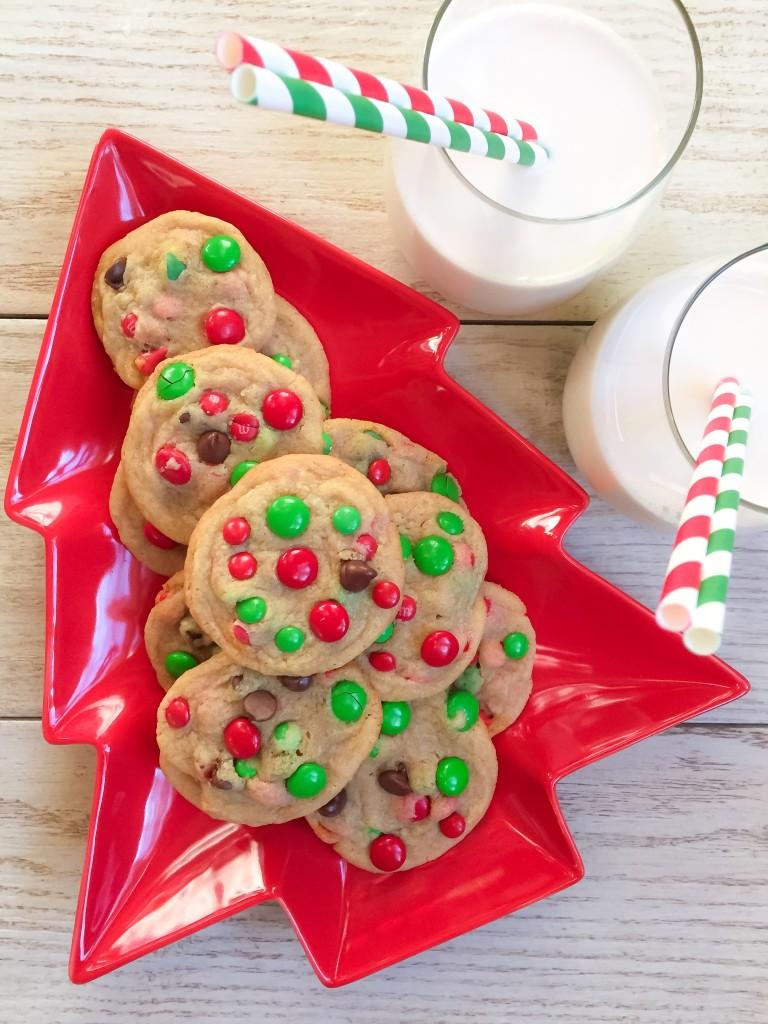 M M Cookies Christmas Festive