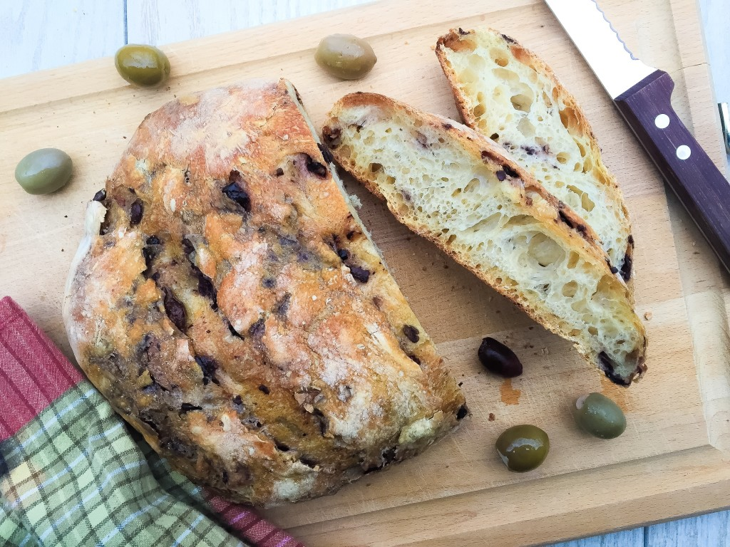 Mediterranean Olive Bread • Tracy Hensel