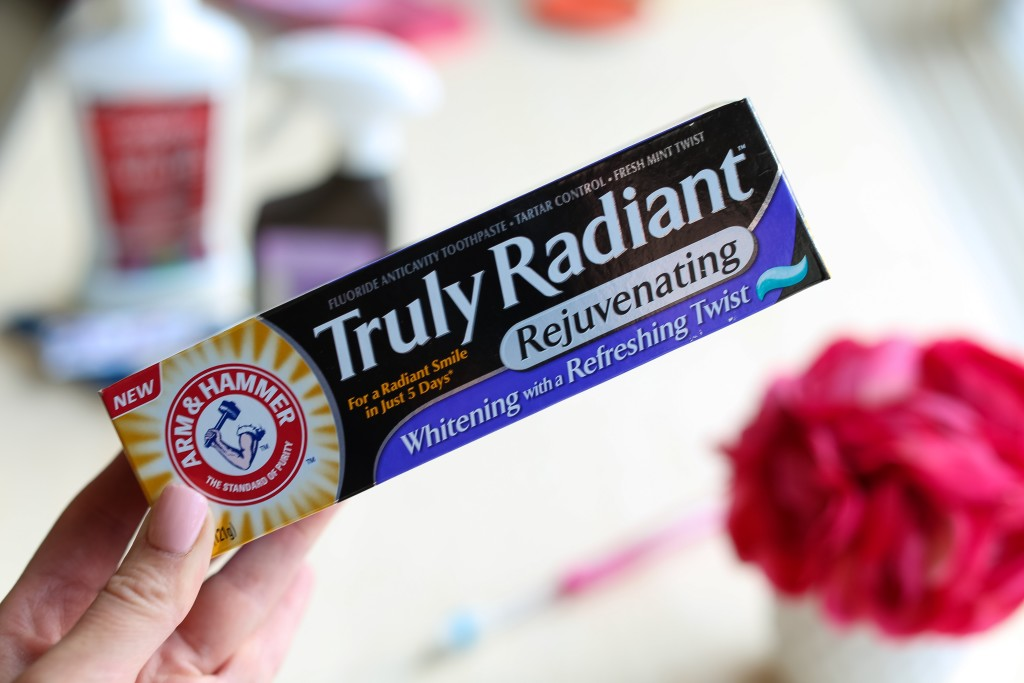 Teeth Whitening Routine