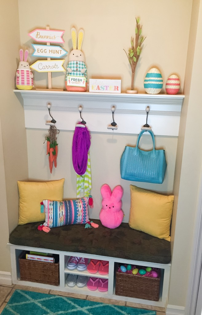 Easter decor tracy hensel for Home goods easter decorations