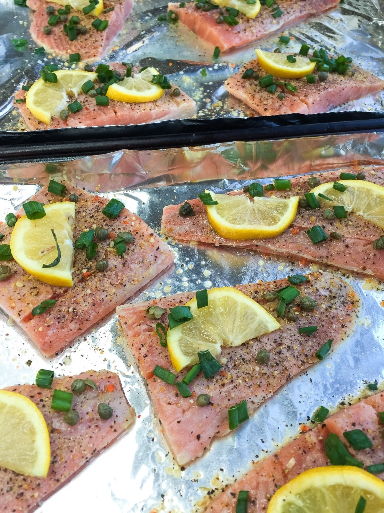 Tracy's Baked Salmon