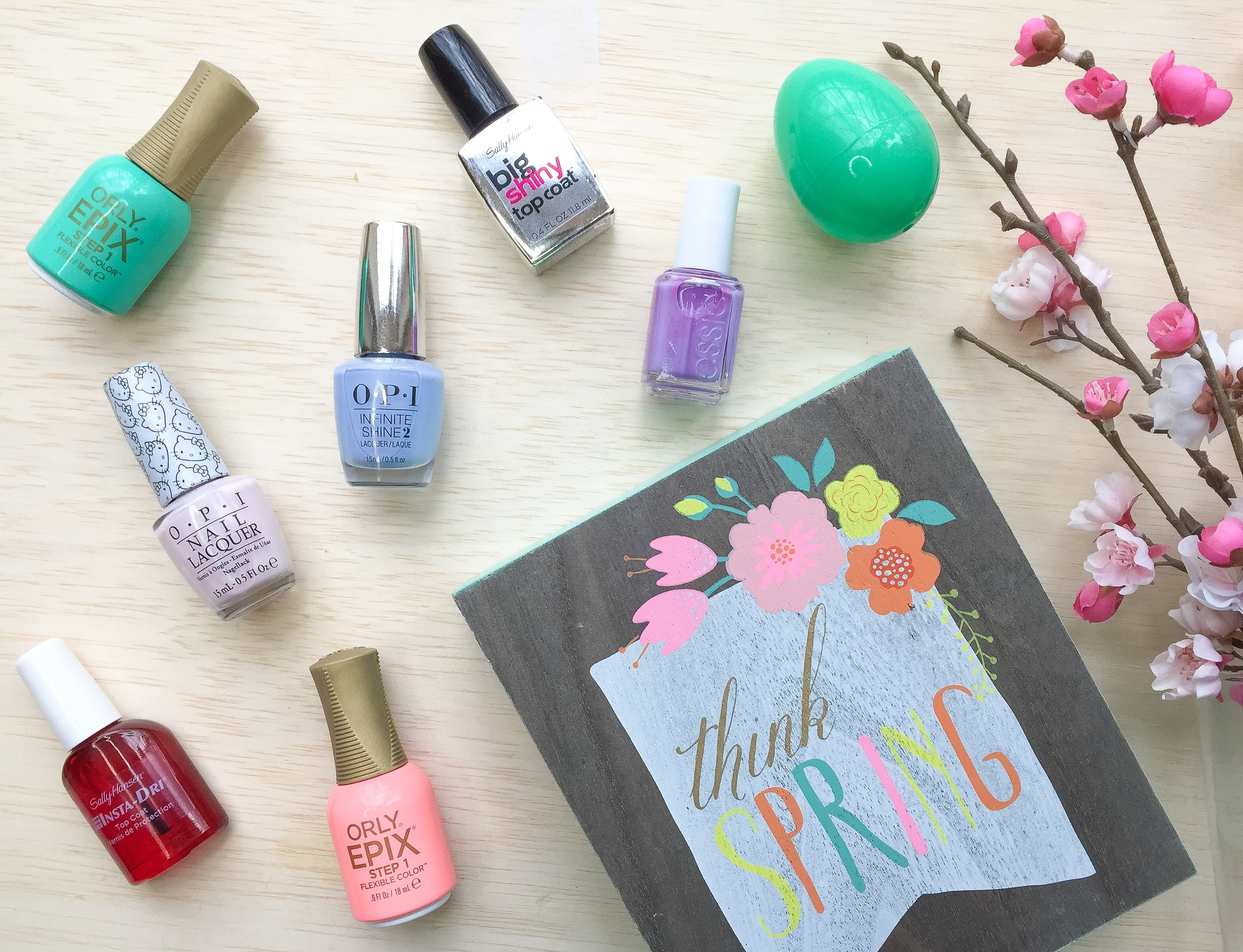 Favorite 5 Spring Nail Polish Colors • Tracy Hensel