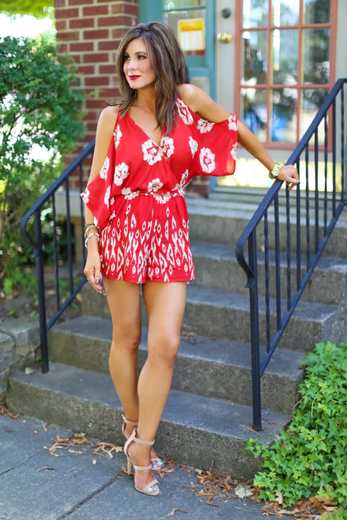 Rompin' Around in Red