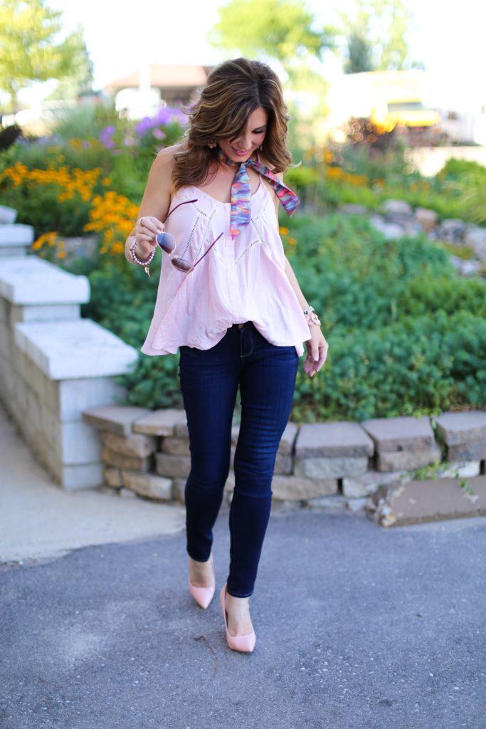 Blush & Blue Jean