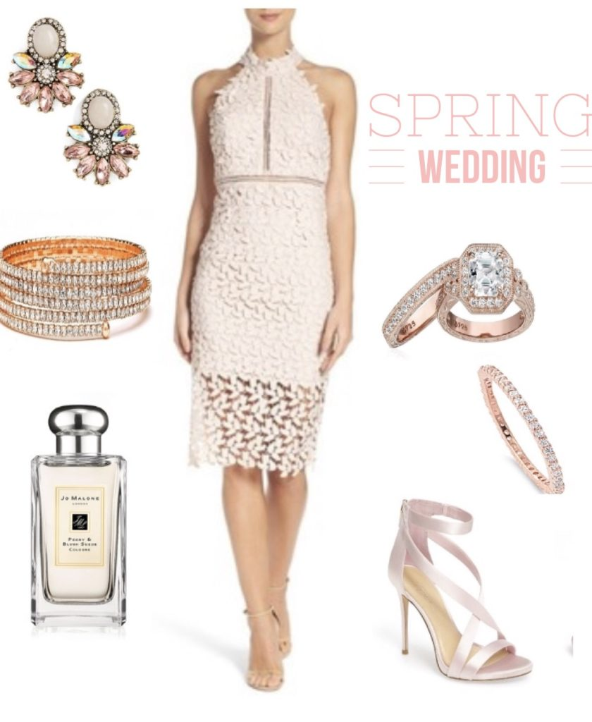8 wedding guest styling tips tracy hensel for How to match jewelry with prom dress